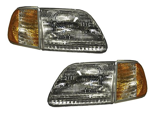 ford-f150-after-7-96-expedition-headlights-headlamps-4pc-set