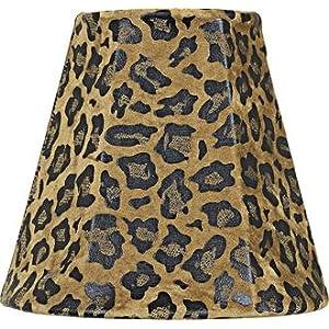 Designer Floor Lamps Pink Taupe Leopard Lamp