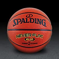 NBA NeverFlat Composite Basketball - Size 29.5