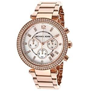 Michael Kors Classic MK5491 Women's Wrist Watches, White Dial