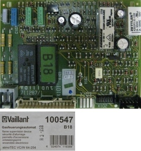 100547 Gasfeuerungsautomat atmoTEC VC/W 64-254