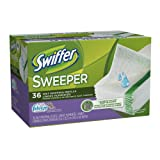 Swiffer Sweeper Wet Mopping Cloths Mop And Broom Floor Cleaner Refills Febreze Lavender vanilla & Comfort  36 Count