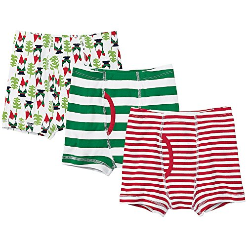 Hanna Andersson Big Boy Boxer Briefs In Organic Cotton, Size Xl (12-Teen), Boys Holiday Set front-1011639
