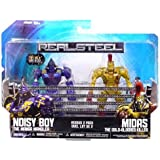 Jakks Pacific Real Steel Movie Basic Action Figure 2Pack Noisy Boy Vs. Midas