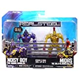 Real Steel Movie BASIC Action Figure 2Pack Noisy Boy Vs. Midas