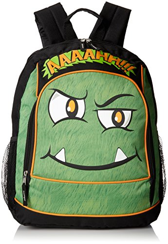 Mystic Apparel Ahh Monster Backpack, Green, One Size
