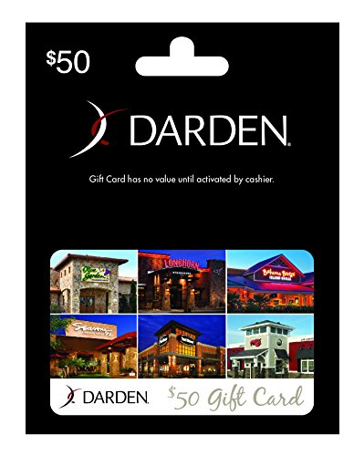 Darden restaurants 50 gift card arts entertainment party - Olive garden gift card at red lobster ...