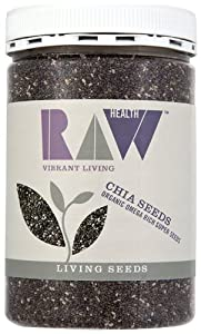 Raw Health Organic Chia Seeds 450 g