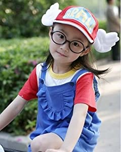 super9 Cosplay Costumes Dr.Slump & Arale clothing 5pc Set