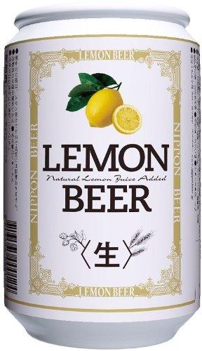 日本ビール醸造 レモンビール 缶 350ml×24本