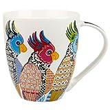 Queens Perching Parakeets Mug