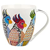 Queens Perching Parakeets Mug