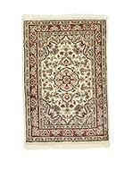L'EDEN DEL TAPPETO Alfombra Kashmirian Beige/Multicolor 60 x 87 cm
