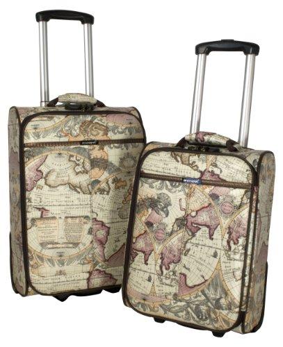 Kofferset 2 tlg. Reisekoffer PVC-Koffer ATLAS