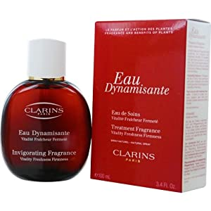 Clarins Eau Dynamisante Invigorating Fragrance Natural Spray Women by Clarins, 3.4 Ounce