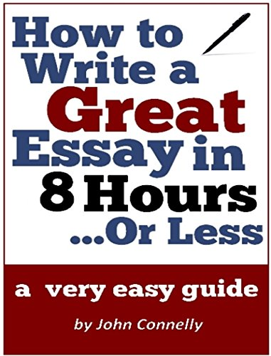 How to write a really good essay