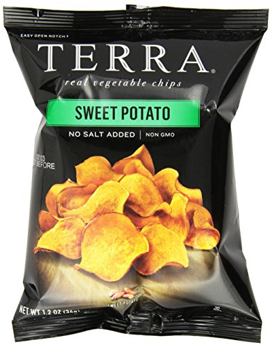 TERRA Sweet Potato, No Salt Added, 1.2 ounce (Pack of 24) (Terra Chip Sea Salt compare prices)