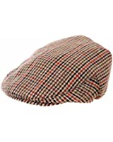 Kids Boys Girls Traditional Tweed Country Style Flat Cap Summer Winter Sun Hat