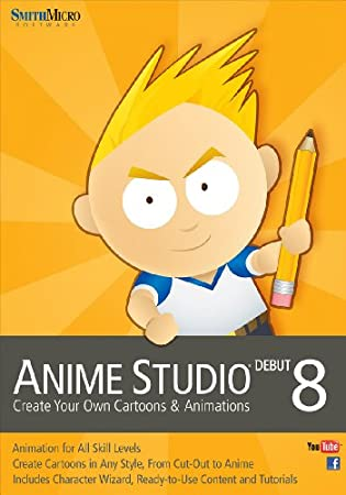 Anime Studio Debut 8 for Mac [Download]