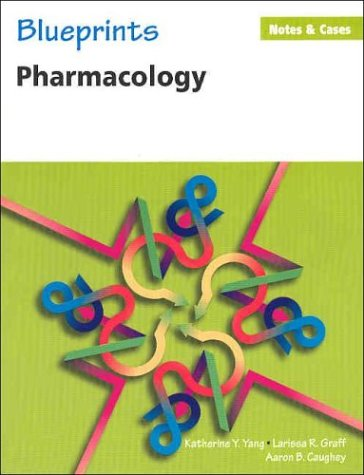 Blueprints Notes & Cases_Pharmacology (Blueprints Notes & Cases Series)