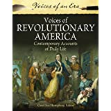 Voices of Revolutionary America: Contemporary Accounts of Daily Life price comparison at Flipkart, Amazon, Crossword, Uread, Bookadda, Landmark, Homeshop18