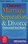 Ontario: Marriage, Separation, & Divorce