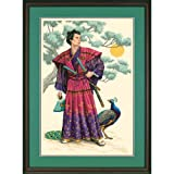 Gold Collection The Mighty Samurai Counted Cross Stitch Kit-12