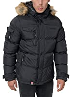Geographical Norway Chaqueta Guateada Clement (Negro)