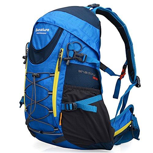 Altosy Mini 30l Hiking Camping Daypack Outdoor Waterproof Travel Backpacks Adult Pack School Bag 2206 (Blue)