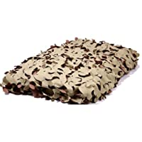 10ftx5ft Desert Camouflage Netting - Fire Retardant Camo Net by KAS