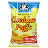Little Bear Original Baked Cheddar Puffs, 4.5 Ounce Bags (Pack of 12) ~ Little Bear