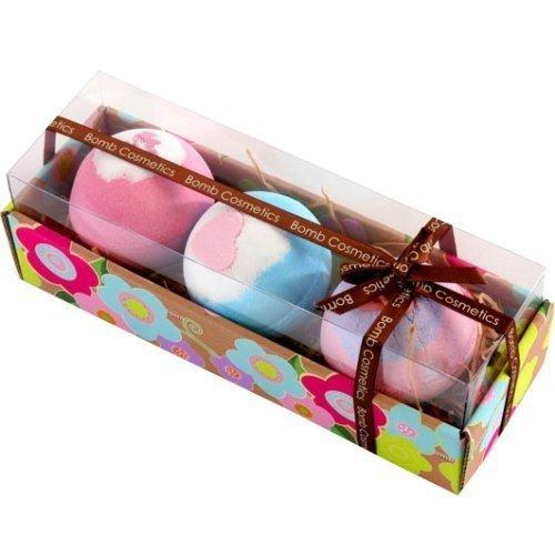 Bomb Cosmetics - Set da regalo con 3 bombe da bagno