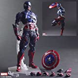 Square Enix Marvel Universe Variant Play Arts Kai Figures - Captain America Toy .HN#GG_634T6344 G134548TY46363