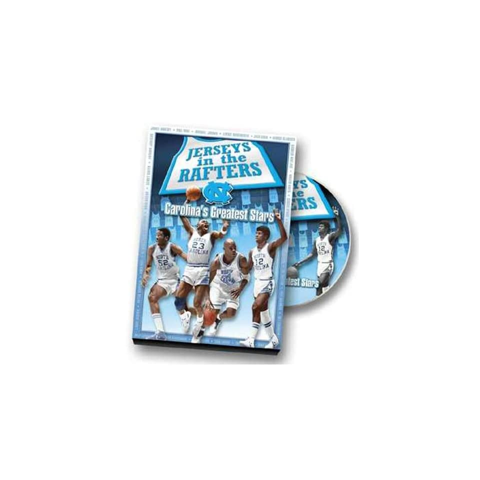 NCAA North Carolina Jerseys in the Rafters DVD   Delivery 2 3 weeks.