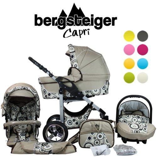 bergsteiger capri kombi kinderwagen im test baby test. Black Bedroom Furniture Sets. Home Design Ideas