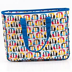 Chumbak Funky Auto Laptop Bag | Color Multicolour