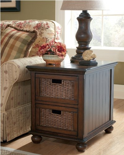 Cheap Chad Rectangular Storage End Table by Ashley Furniture (B002OTP2IU)