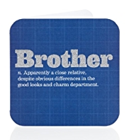 Brother Dictionary Definition Birthday Card