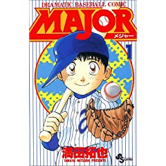 Major�\Dramatic baseball comic (1) (���N�T���f�[�R�~�b�N�X)