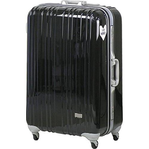 TSAロック スーツケース SPALDING モデル0614 ≪ブラック≫ 大型 Lサイズ 73cm 5.9kg 103リットル 8泊以上 スポルディング ポリカーボネイト100% ハードキャリー