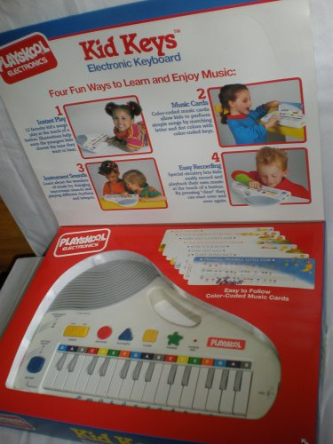 Kid Keys Electronic Keyboard, 8 Music Cards