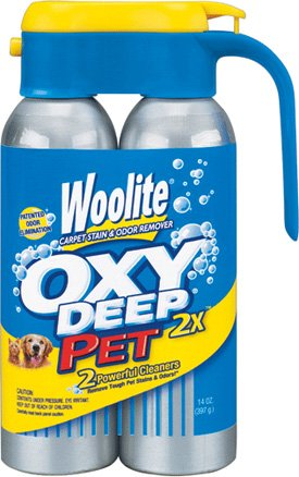 Woolite OXY Deep 2X Pet Stain & Odor Carpet Cleaner 14 oz (397 g)