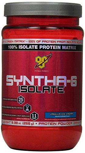 BSN SYNTHA-6 ISOLATE - Vanilla Ice Cream, 9.38 Oz (7 Servings)