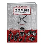 Zombie Survival Notes Mini Journalpar Max Brooks