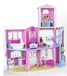 Mattel Barbie 3-Story Dream House - Huge Playset