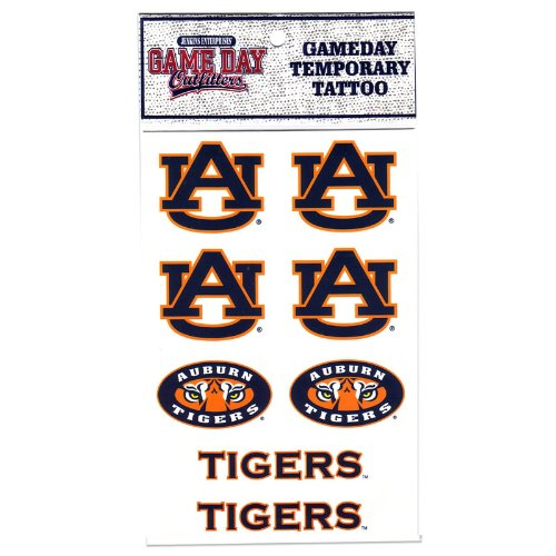 NCAA Auburn Tigers Tattoo at Amazon.com