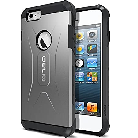 "OBLIQ Xtreme PRO Series for iPhone 6 (4.7"") is a Premium Heavy Duty Dual Layered case which is durable, lightweight, slim, perfect-fit, shock-resistant, tear-resistant, anti-scratch, anti-fingerprint, and anti-slip."