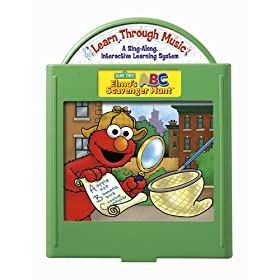 Fisher-Price: Learn Through Music Learning System - Elmo's ABC Scavenger Hunt Cartridge
