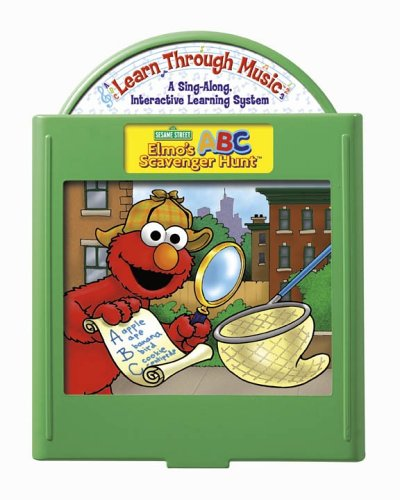 Fisher-Price: Learn Through Music Learning System - Elmo's ABC Scavenger Hunt Cartridge - 1