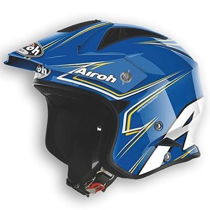 Airoh casque de moto tRRSM18-tRR-dimensions: 63 cm-bleu